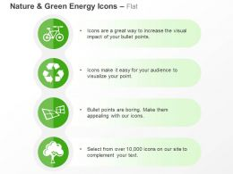 Cycle Recycle Solar Energy Production Tree Ppt Icons Graphics