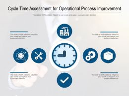 Cycle Time Assessment For Operational Process Improvement