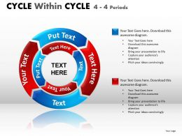 Cycle Within Cycle Diagram PPT 10