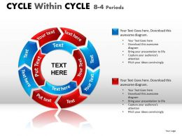 34903715 Style Circular Concentric 8 Piece Powerpoint Template Diagram Graphic Slide