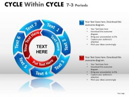 Cycle Within Cycle Diagram PPT 7