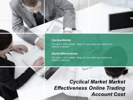 Cyclical Market Market Effectiveness Online Trading Account Cost Cpb
