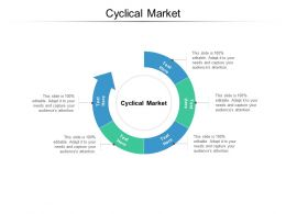 Cyclical Market Ppt Powerpoint Presentation Inspiration Graphics Cpb