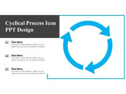 Cyclical Process Icon Ppt Design