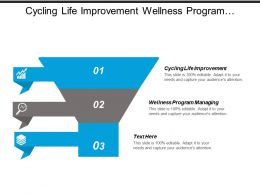 Cycling Life Improvement Wellness Program Managing Homogeneous Teams Cpb