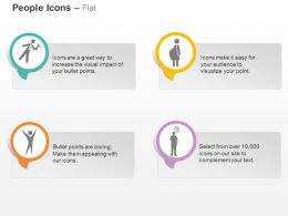 Cz Waiter School Children Winner And Thinking Person Ppt Icons Graphics
