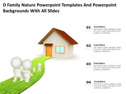 D Family Nature Powerpoint Templates With All Slides Ppt Powerpoint
