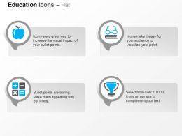 Da Apple Math Operator Trophy Ppt Icons Graphics