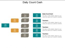 Daily Count Cash Ppt Powerpoint Presentation Gallery Informationcpb