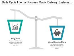 Daily Cycle Internal Process Matrix Delivery Systems Architecture