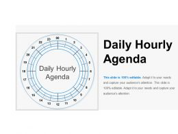 Daily Hourly Agenda Ppt Background Template