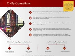 Daily Operations In Fluctuation Ppt Powerpoint Presentation Layouts
