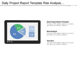 Daily Project Report Template Risk Analysis Business Flow Diagram Cpb