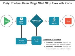 daily_routine_alarm_rings_start_stop_flow_with_icons_Slide01