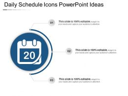 Daily Schedule Icons Powerpoint Ideas