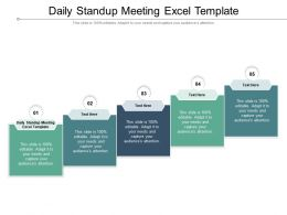 Daily Standup Meeting Excel Template Ppt Powerpoint Presentation Inspiration Visuals Cpb
