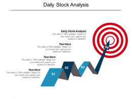 Daily Stock Analysis Ppt Powerpoint Presentation Gallery Professional Cpb
