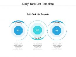 daily task list template ppt powerpoint presentation file templates cpb
