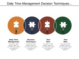 Daily Time Management Decision Techniques Enterprise Communications Platform