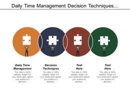 Daily Time Management Decision Techniques Enterprise Communications Platform