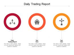 Daily Trading Report Ppt Powerpoint Presentation Deck Cpb