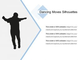 Dancing Moves Silhouette Powerpoint Layout