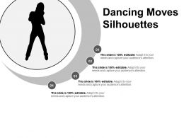 Dancing Moves Silhouettes Powerpoint Guide