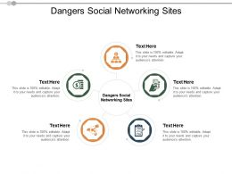 Dangers Social Networking Sites Ppt Powerpoint Presentation Gallery Show Cpb
