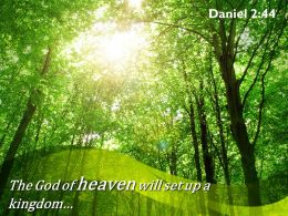 Daniel 2 44 The God of heaven will set up PowerPoint Church Sermon