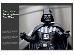 Darth Vader Pointing From Star Wars