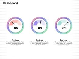 Dashboard Audiences Attention Ppt Powerpoint Presentation Background Designs