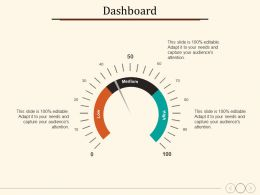 Dashboard Business Management Planning Strategy Marketing