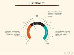 Dashboard Business Management Planning Strategy Marketing