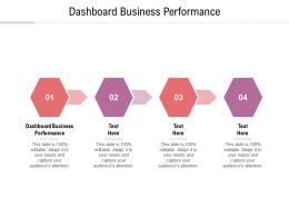 Dashboard Business Performance Ppt Powerpoint Presentation File Visuals Cpb