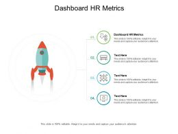 Dashboard HR Metrics Ppt Powerpoint Presentation Themes Cpb