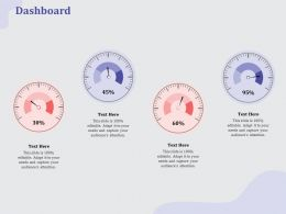 Dashboard L1919 Ppt Powerpoint Presentation Infographics Designs Download