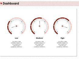 Dashboard Low M409 Ppt Powerpoint Presentation Gallery Icon