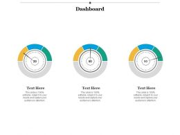 Dashboard Marketing Ppt Infographics Example Introduction