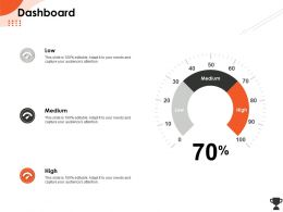 Dashboard Medium M539 Ppt Powerpoint Presentation Icon Outline