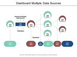 Dashboard Multiple Data Sources Ppt Powerpoint Presentation Show Example Topics Cpb