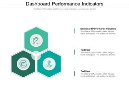 Dashboard Performance Indicators Ppt Powerpoint Presentation Infographic Cpb