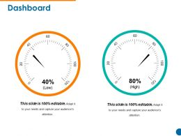 Dashboard Powerpoint Ideas Template 1