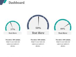 Dashboard Powerpoint Shapes