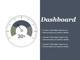 Dashboard Powerpoint Slide Background