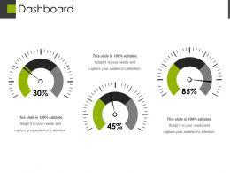 Dashboard Powerpoint Slide Design Templates 1