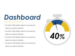 Dashboard Ppt Background