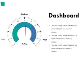 Dashboard Ppt Background Graphics
