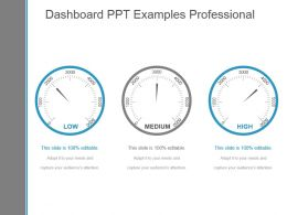 Dashboard Ppt Examples Professional