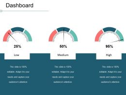 Dashboard Ppt Icon