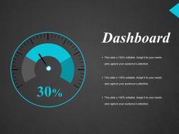 Dashboard Ppt Influencers